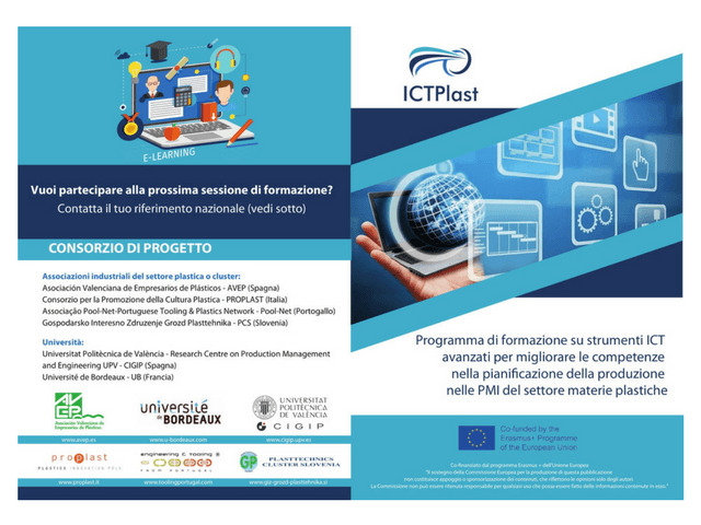 Partners of the ICTPlast Training Project